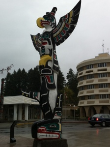 Totem Poles in Duncan, BC